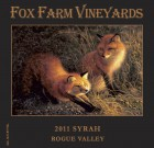 2013 Fox Farm Vineyards Rogue Valley Syrah