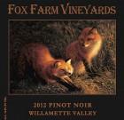 2012 Fox Farm Vineyards Willamette Valley Pinot Noir