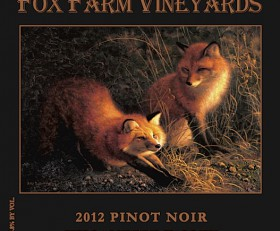 2014 Fox Farm Vineyards Willamette Valley Pinot Noir