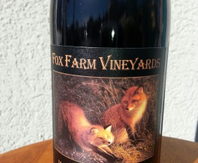 "2013 Fox Farm ""Bayliss-Bower"" Reserve Pinot Noir $32.00"