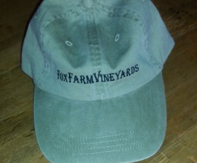 Fox Farm Vineyards Logo Cap
