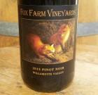 2015 Fox Farm Vineyards Pinot Noir