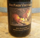 2015 Fox Farm Vineyard Grenache