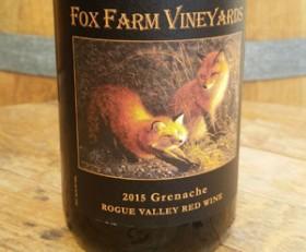 2015 Fox Farm Vineyard Grenache