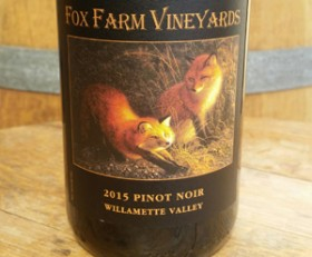 2016 Fox Farm Vineyards Pinot Noir