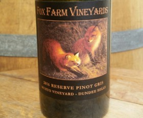 2019 Pinot Gris Weber Vineyard Dundee Hills / Willamette Valley