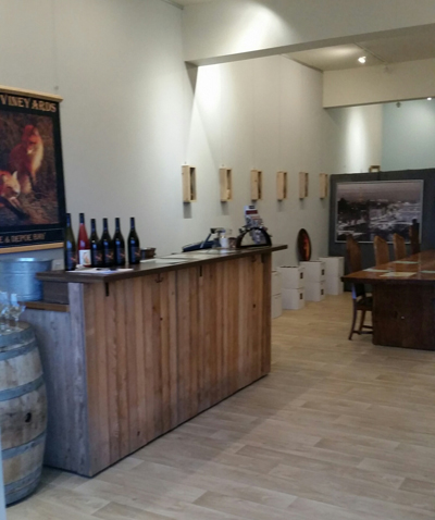 Fox Farm Vineyard's Depoe Bay Tasting Room